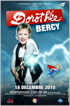 Affiche Dorothee Bercy 2010