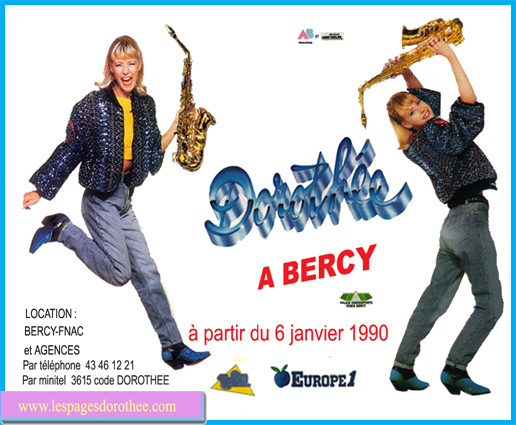 Dorothee à Bercy